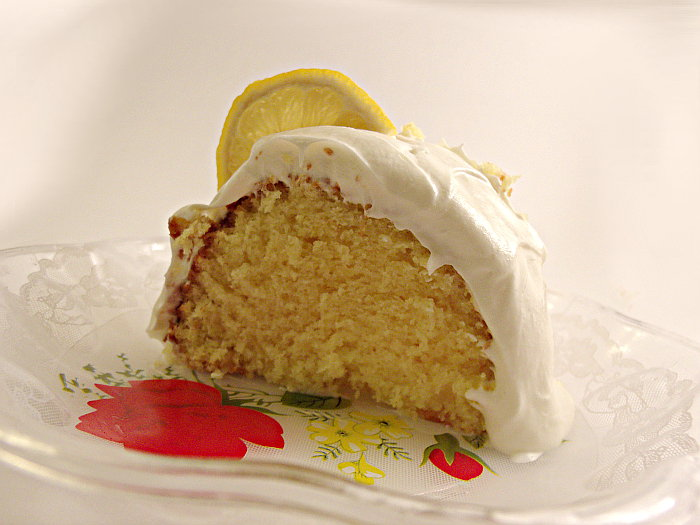 Easy Creamy Greek Lemon Cake