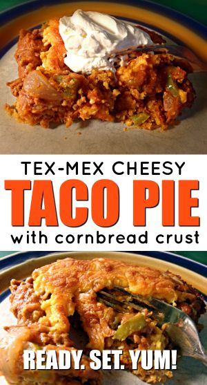 Tex Mex Cheesy Taco Pie Recipe